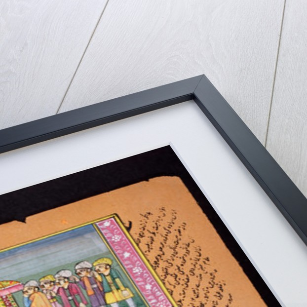 Rajasthani miniature painting by Indian School