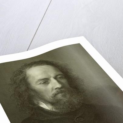 Lord Alfred Tennyson by English School