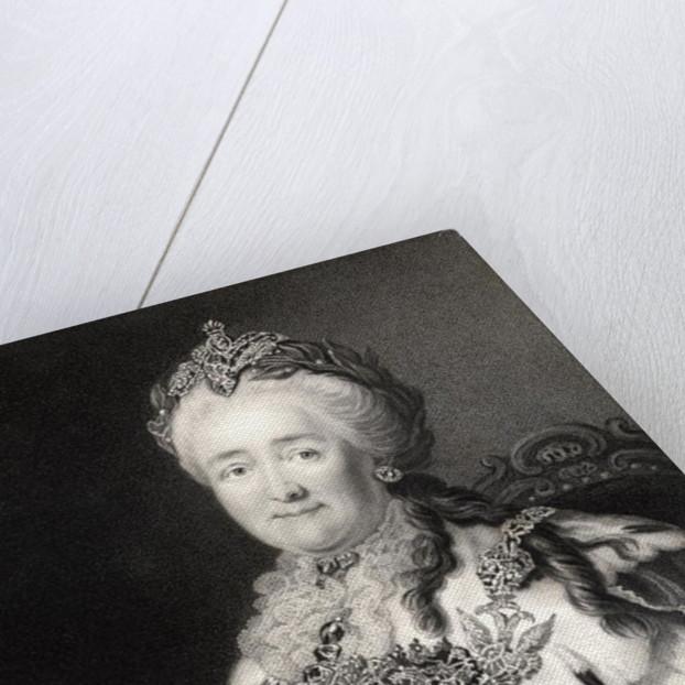 Catherine II of Russia by Alexander Roslin