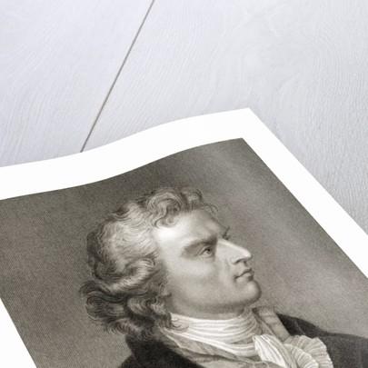 Friedrich (Johann Christoph) von Schiller by English School