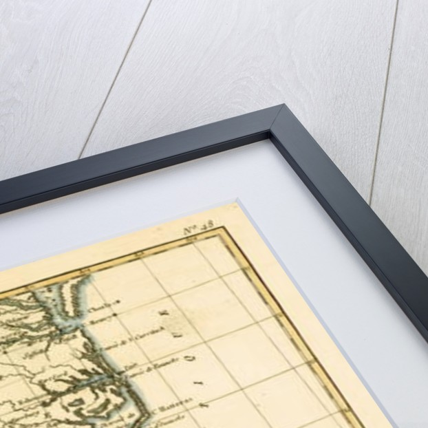 South-east Coast of America by Charles Marie Rigobert Bonne