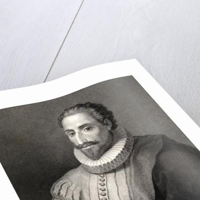 Miguel de Cervantes y Saavedra by Spanish School