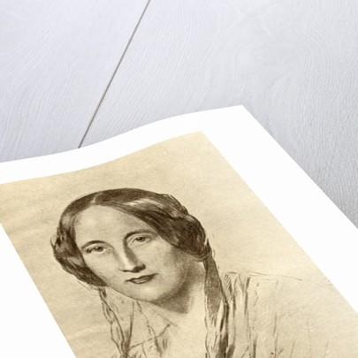 Elizabeth Cleghorn Gaskell by George Richmond