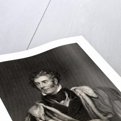 Thomas Philip Weddell Robinson 3rd Baron Grantham by English School