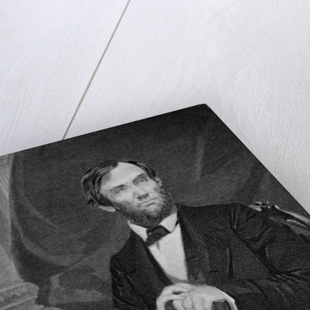 Portrait of Abraham Lincoln by Alonzo Chappel