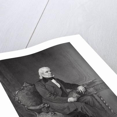 Portrait of James Knox Polk by Alonzo Chappel