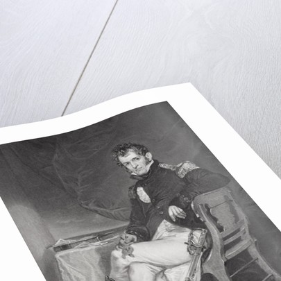 Portrait of David Porter by Alonzo Chappel