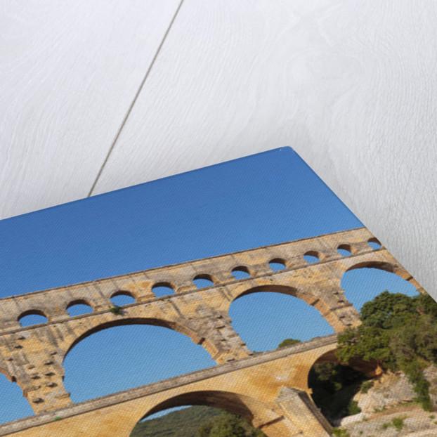 Pont du Gard, Roman aqueduct, France. by Unknown