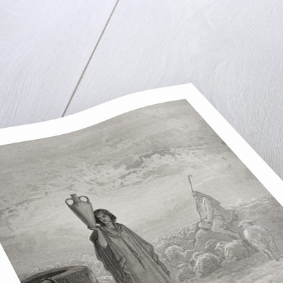 Jacob Keeping Laban's Flock by Gustave Dore