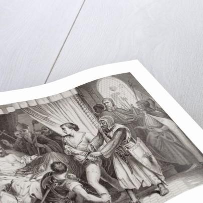 Richard the Lionheart forgiving Bertrand de Gurdun who had attempted his life in 1199 by John Cross