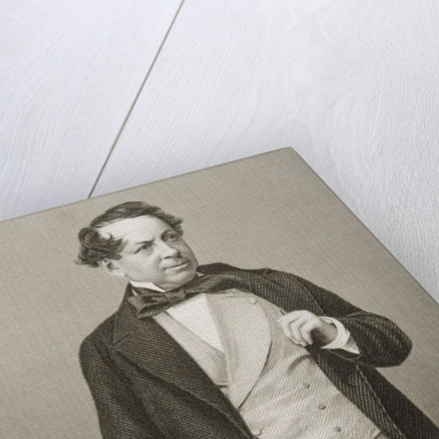 John Baldwin Buckstone by from 'The Drawing-Room of Eminent Personages