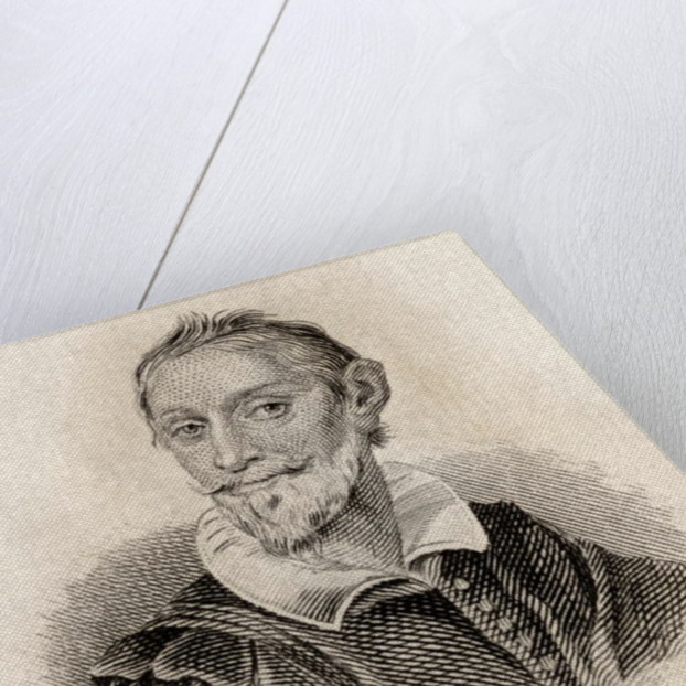 Miguel Saavedra de Cervantes by J.W. Cook
