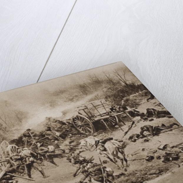 The Battle of Champigny by Alphonse Marie de Neuville