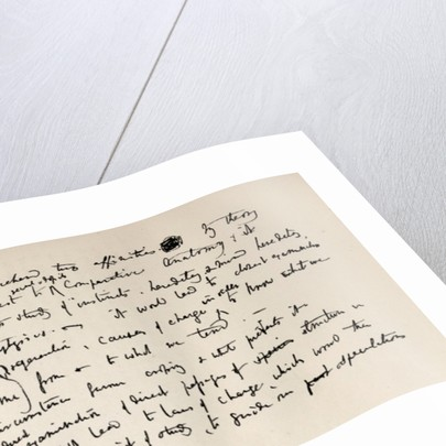 Page from a Darwin Notebook of 1837 by Charles Darwin