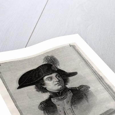 Antoine Joseph Santerre from 'Histoire de la Revolution Francaise' by Louis Blanc by French School