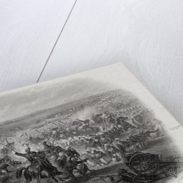 Battle of Aliwal, India by Michael Angelo Hayes