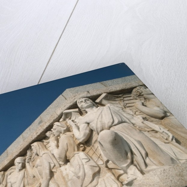 Detail of the Monument to Victory by Juan de Avalos by Unknown