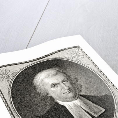 Dr John Witherspoon, engraved by James Barton Longacre by Charles Willson Peale