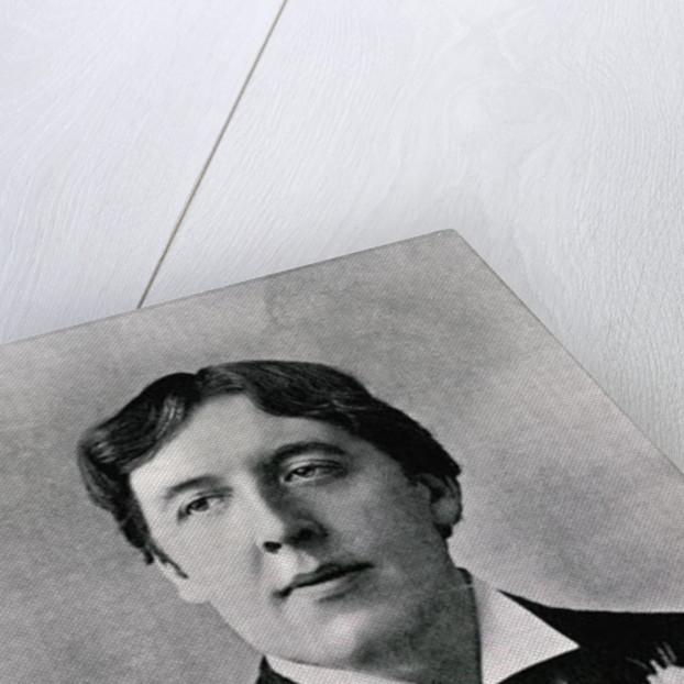 Oscar Wilde by English Photographer