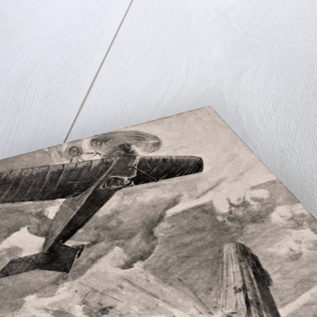 Flight Sub-Lieutenant Warneford VC bombs and destroys Zeppelin airship by English School