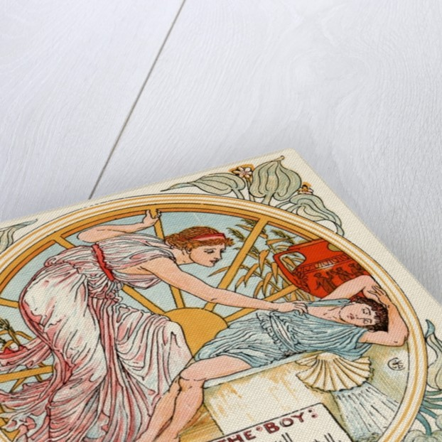 Fortune and the Boy by Walter Crane