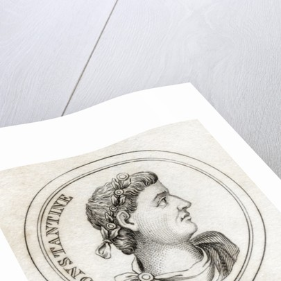 Emperor Constantine by English School