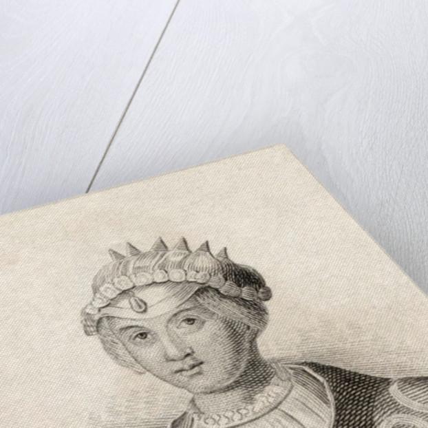 Mary of Habsburg by English School