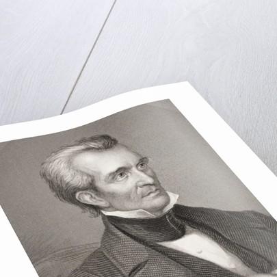 James Knox Polk by English School