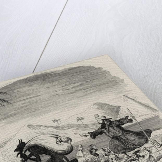 Legend of St. Medard by George Cruikshank