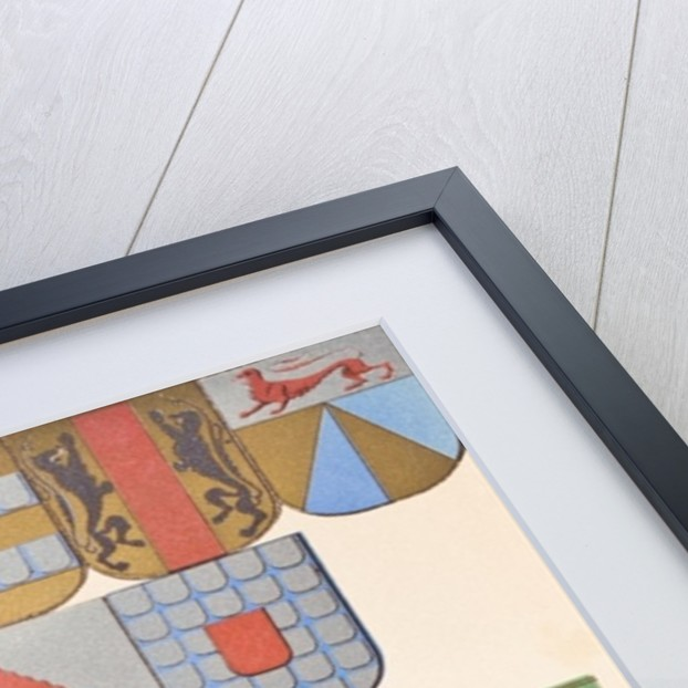 Display of armorial bearings by English School