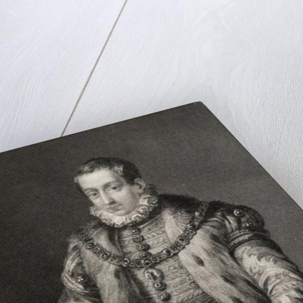 Carlos, Prince of Asturias by English School