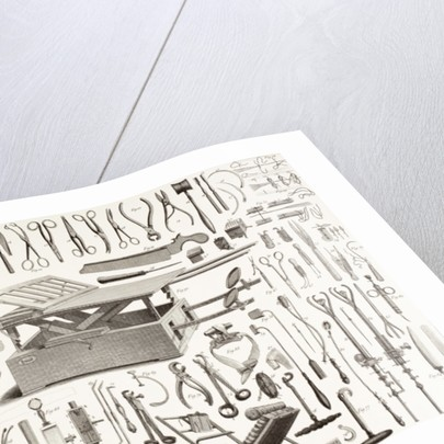 Nineteenth Century Surgical Instruments by English School