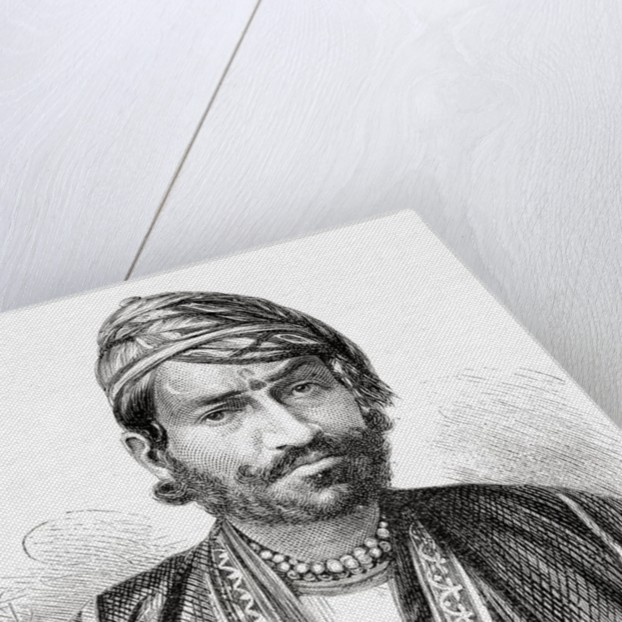 Maharajah Sawai Ram Singh II, Maharajah of Jaipur by European School