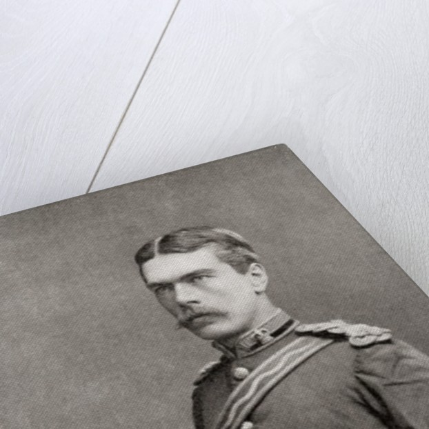 Lord Kitchener as a young officer of the Royal Engineers by Anonymous