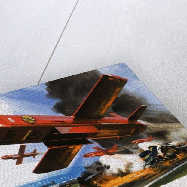 VFW-Fokker midget drone for spraying foam onto fires by English School