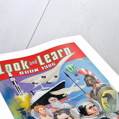 Cover of the Look and Learn Book 1986 by English School