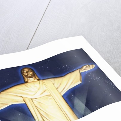 Giant Figure of Christ by English School