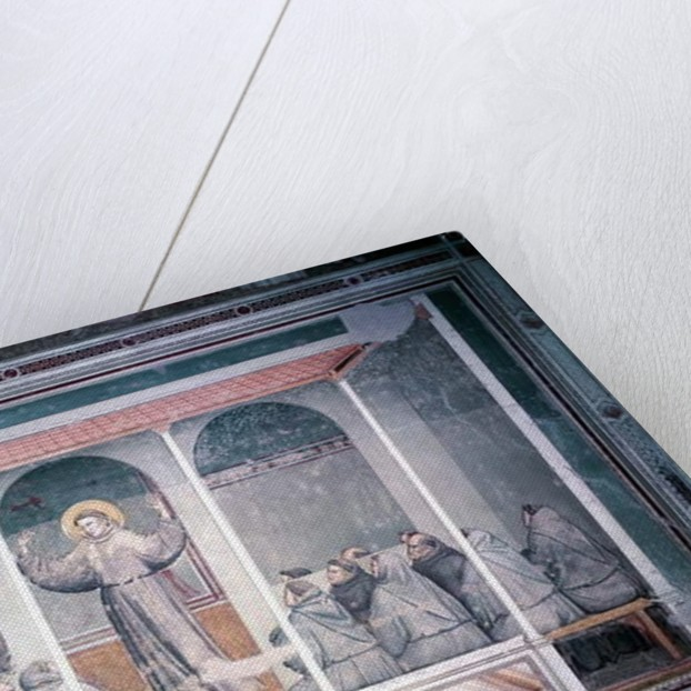 St. Francis Appears to St. Anthony in Arles by Giotto di Bondone