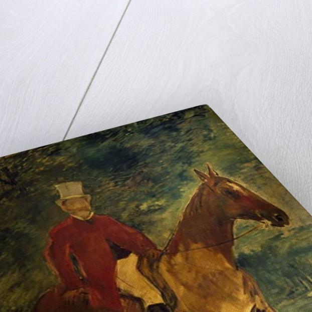 Monsieur Arnaud a Horseback by Edouard Manet
