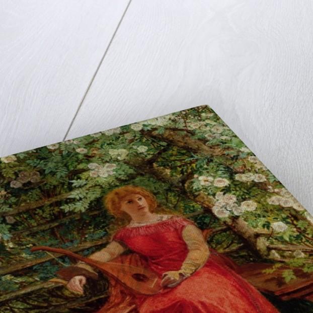 Fair Rosamund in her Bower by William Bell Scott