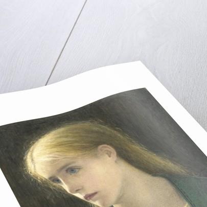 Evelyn Hope, 1870 by Edward Clifford