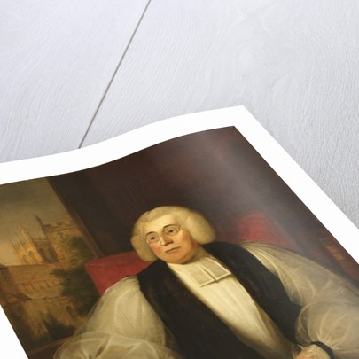 George Horne, President of Magdalen College by John Bridges