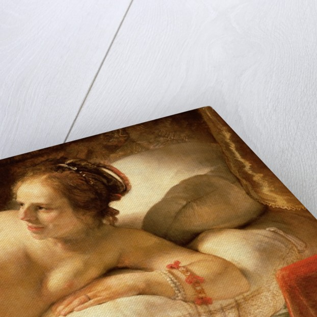 Danae, 1643 by Rembrandt Harmensz. van Rijn