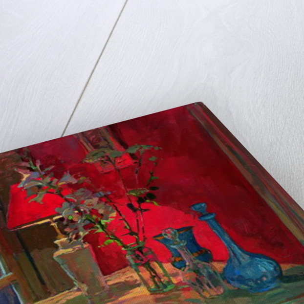 Red Lamp by Susan Ryder