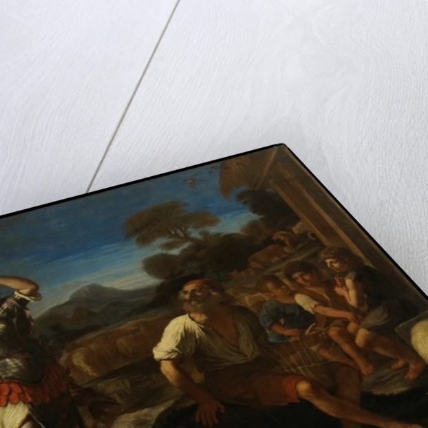 Erminia and the Shepherds, 1648 by Guercino
