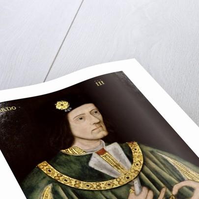 Portrait of King Richard III, c.1575 by English School