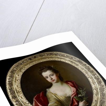 Portrait of Margaret Gyfford, aged 12 by Johann Closterman