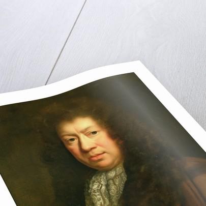 Portrait of Samuel Pepys, copy after John Riley by Johann Closterman