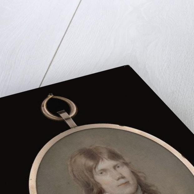 Portrait miniature of an unknown gentleman by Louis-Ami Arlaud-Jurine