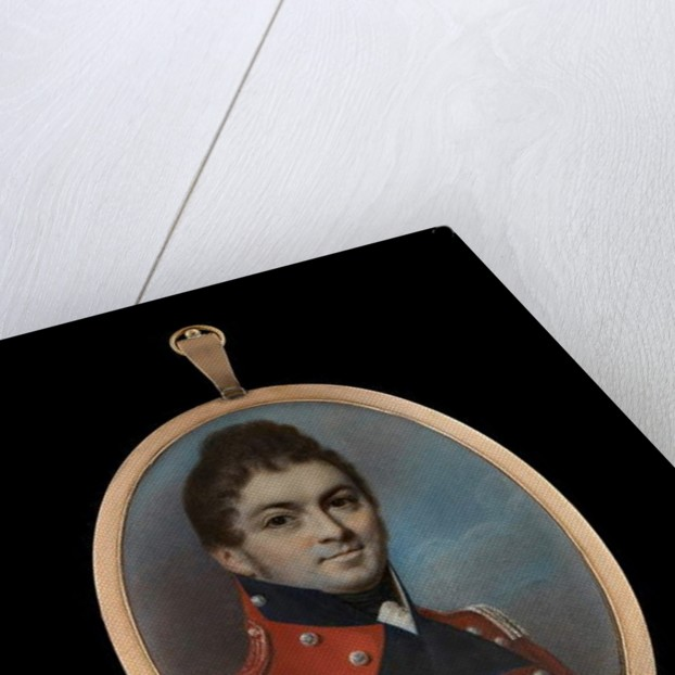 Lieutenant Colonel Otto William Offeney, 1807 by George Engleheart